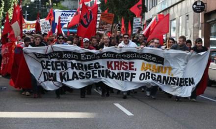 Demo und Proteste gegen die Einheitsfeierlichkeiten