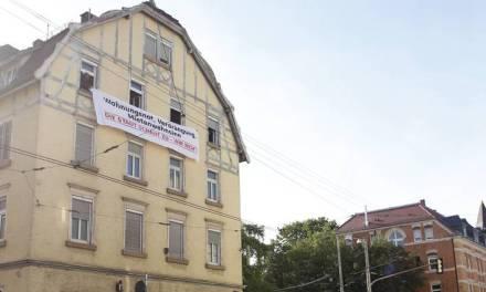Städtischer Wohnkomplex in Cannstatt besetzt – gegen Wohnungsnot, Mietenwahnsinn und Verdrängung!