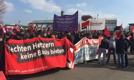 Tausende auf Protesten gegen rechten Aufmarsch in Kandel
