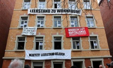 leerstandbeleben – Wohnhaus im Stuttgarter Westen besetzt!