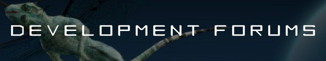 Development Forums Button