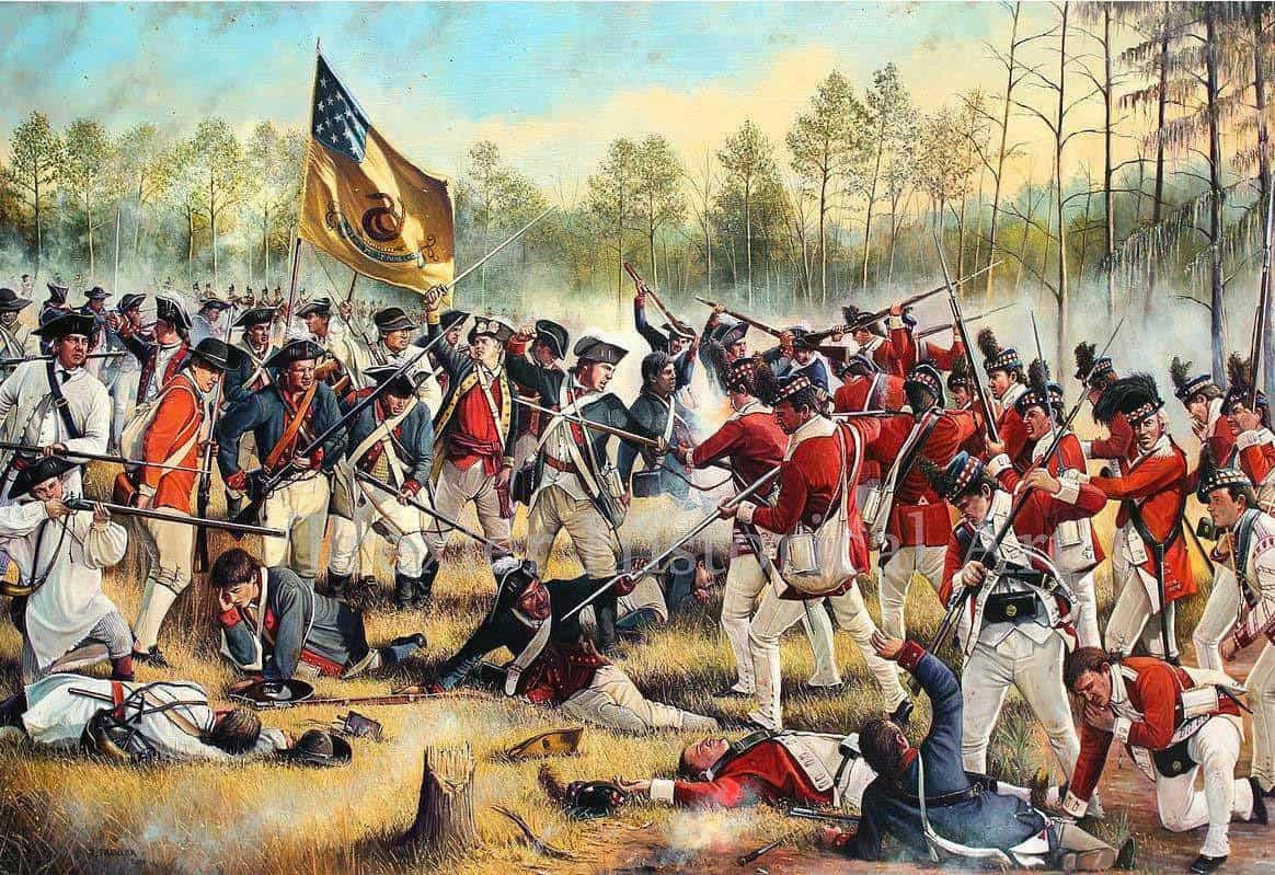 Battle Of Kettle Creek American Revolutionary War