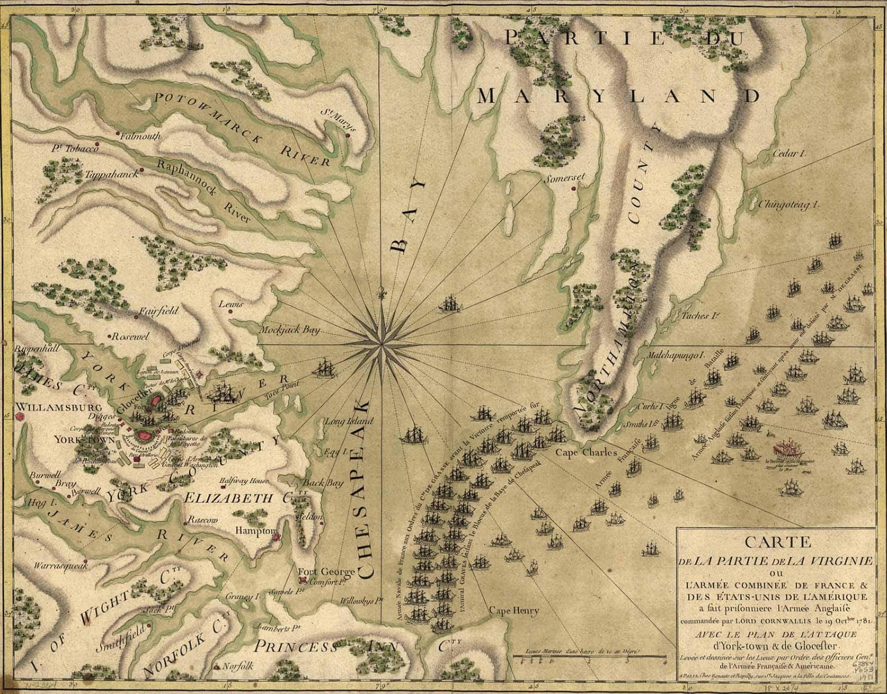 Siege Of Yorktown American Revolutionary War