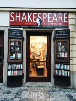 Shakespeares and Sons in Prag