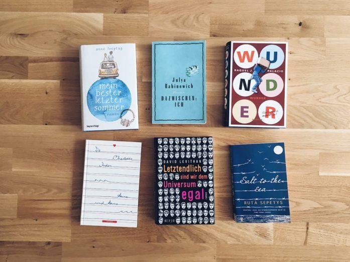 Die besten Jugendbücher mit Herz und HIrn