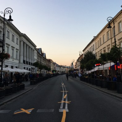 Fotoalbum: Warschau im Herbst