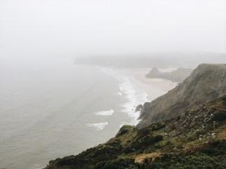 Winter in Wales: Three Rocks Bay