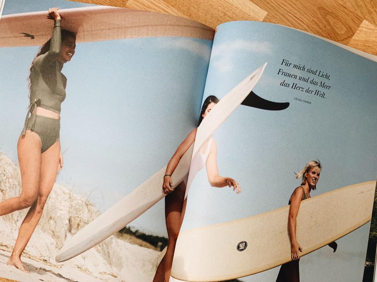 """""""Surf like a Girl"""" von Carolin Amell"""