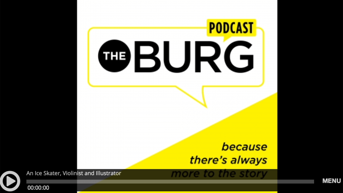 TheBurg podcast playhead for RIU interview with Kasey Jordan.