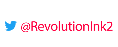 Follow Us on Twitter @RevolutionInk2