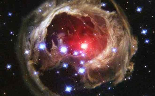 example of a nebula were stars are born