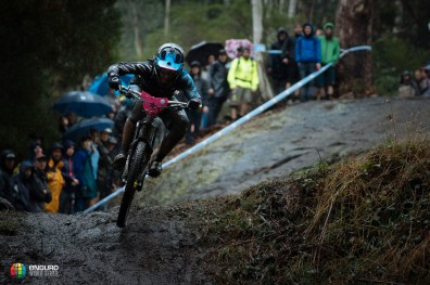 Ines Thoma followed her form in Rotorua scoring 3rd place in the tricky conditions