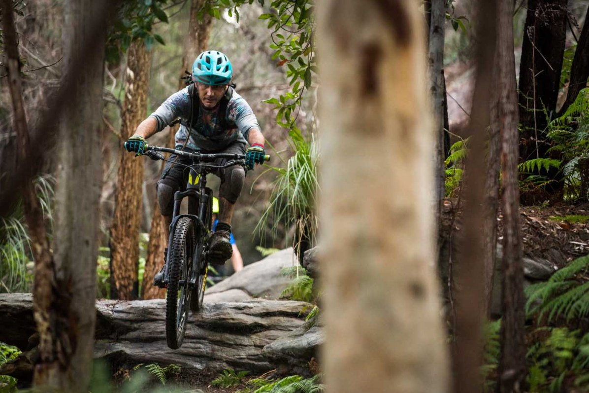 The trails are some of the best we've ever ridden and seen in Sydney. The level of care and respect for the area is obvious. Pic:©Richard McGibbon
