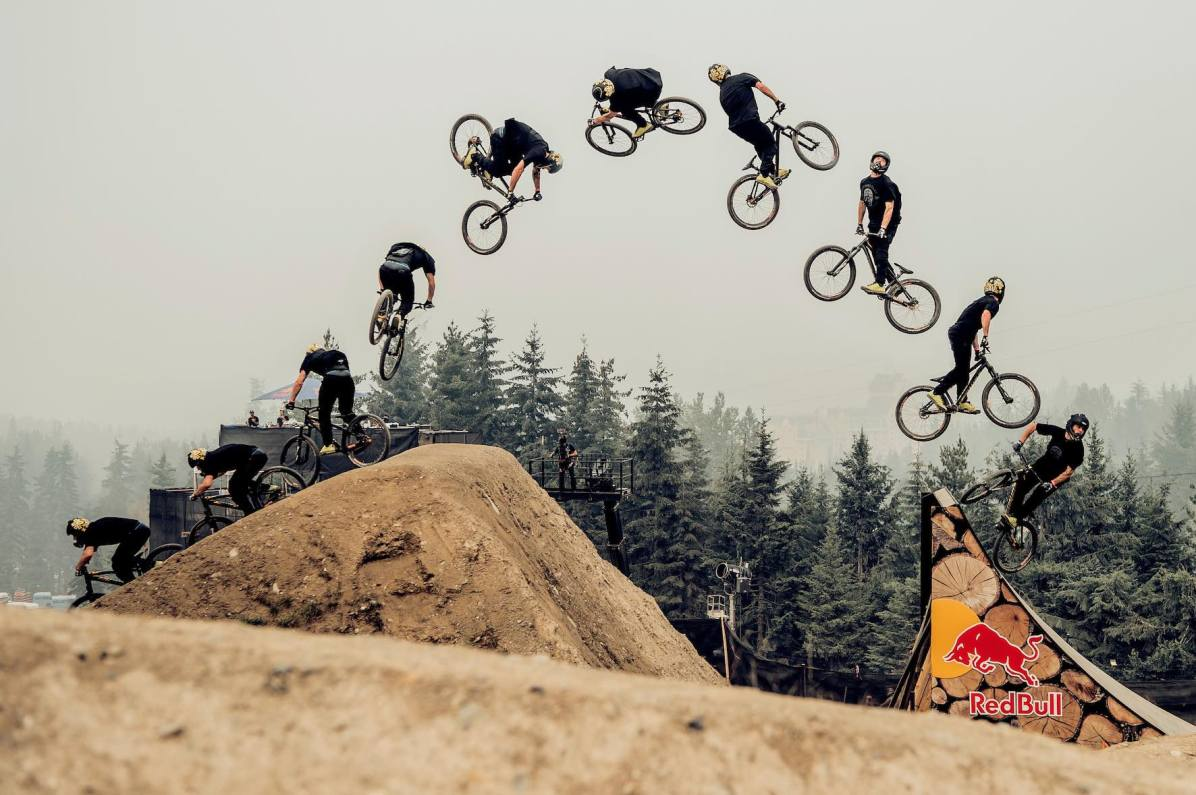 Nicholi Rogatkin performs at Red Bull Joyride in Whistler, Canada on August 18th, 2018 // Bartek Wolinski/Red Bull Content Pool // AP-1WMS3B59N2111 // Usage for editorial use only // Please go to www.redbullcontentpool.com for further information. //