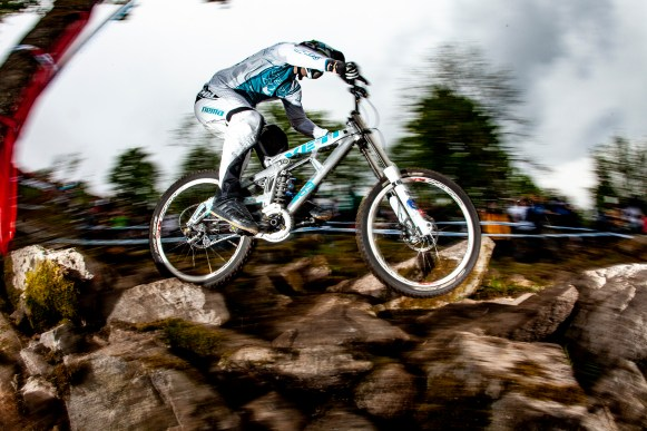 , during the second UCI world cup, La Bresse, France.