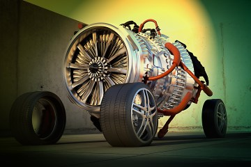turbine jet engine