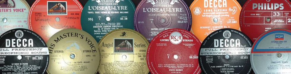 Classical LP labels from the UK guide