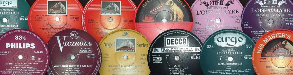 Classical LP Lablels from the UK