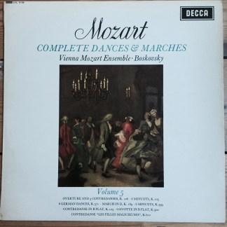 Decca Mozart LP Record vinyl