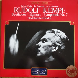 Orfeo S 0789832 1 Beethoven Egmont, Symphony No. 7 / Kempe in Rehearsal 2 LP set