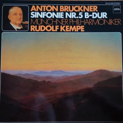 BASF HA 22.526 Bruckner Symphony No. 5 / Rudolf Kempe / Munich Philharmonic