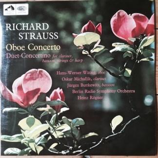 ASD 2320 Richard Strauss Oboe Concerto, Duet Concertino / Heinz Rogner / BRSO