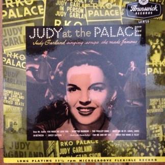 """Brunswick LA 8725 Judy Garland Judy At The Palace 10"""" LP"""