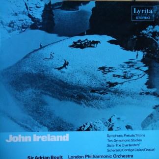 SRCS 45 John Ireland Symphonic Prelude, tritons, Two Symphonic Studies, etc. / Boult / LPO