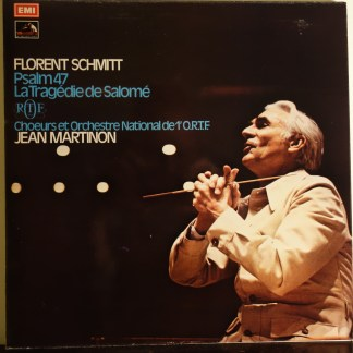 ASD 2892 Florent Schmitt Psalm 47 / La Tragedie de Salome / Martinon / ORTF