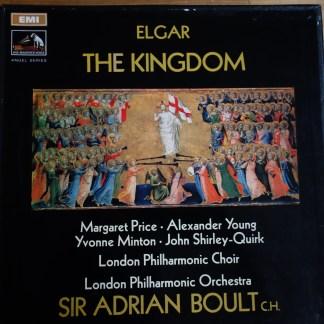 SAN 244-5 Elgar The Kingdom / Boult 2 LP box set HP List