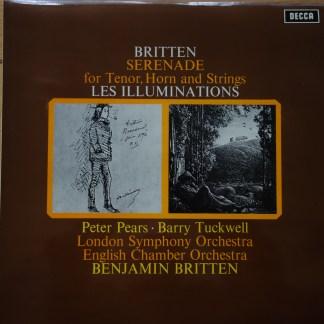 SXL 6449 Britten Serenade / Les Illuminations / Pears / Tuckwell / Britten / ECO