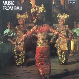 ZFB 73 Music From Bali / Gamelan Orchestra from Pliatan, Indonesia