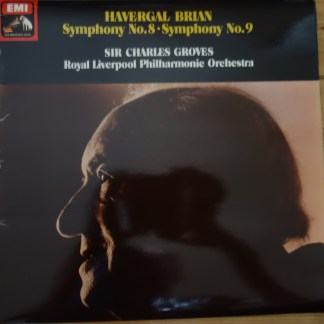 ASD 3486 Havergal Brian Symphony No. 8 & 9 / Groves / RLPO HP List