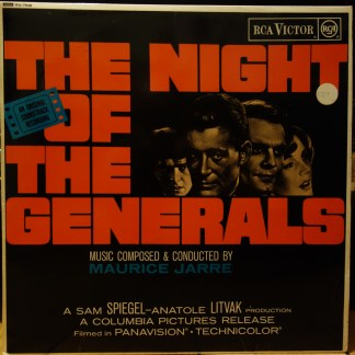 RD 7848 The Night of The Generals / Maurice Jarre