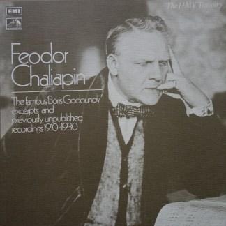 RLS 710 Feodor Chaliapin Boris Godounov