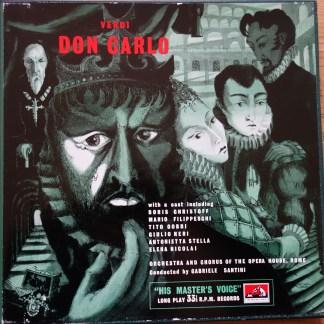 ALP 1289/92 Verdi Don Carlo