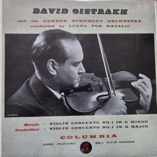 33CX 1268 Bruch / Prokofiev Violin Concertos / David Oistrakh B/G