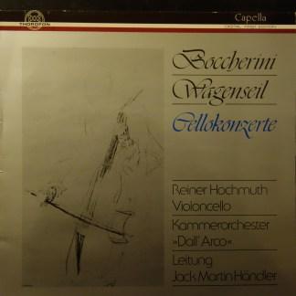 MTH 322 Boccherini / Wagenseil Cello Concertos / Hochmuth