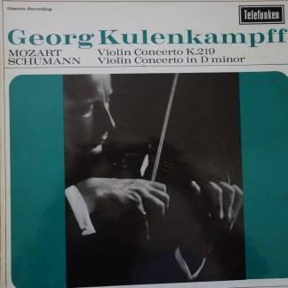 GMA 99 Mozart / Schumann Violin Concertos / Georg Kulenkampff