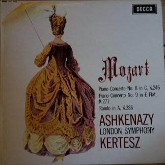 SXL 6259 Mozart Piano Concerto No. 8 & 9 / Rondo