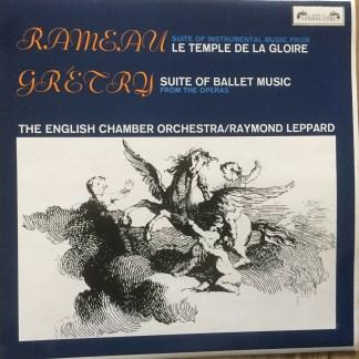 SOL 297 Rameau Le Temple De La Gloire / Gretry