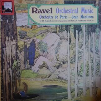 SLS 5016 Ravel Orchestra Music / Martinon / ODP