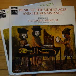 HQS 1195/96 Music of The Middle Ages & Renaissance