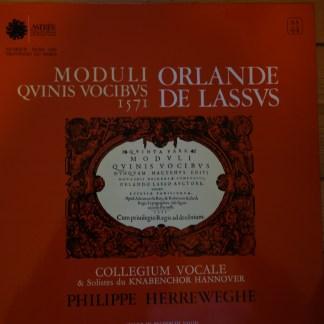 AS 44 Lassus Moduli Quinis Vocibus 1751