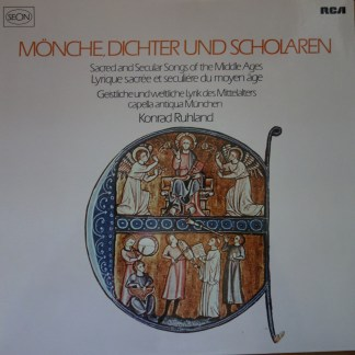RL 30336 Sacred & Secular Song of the Middle Ages