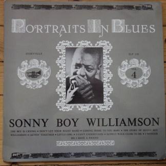 SLP 158 Sonny Boy Williamson Portraits in Blues