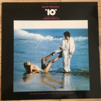 """K56775 Blake Edwards """"10"""" / Henry Mancini OST"""