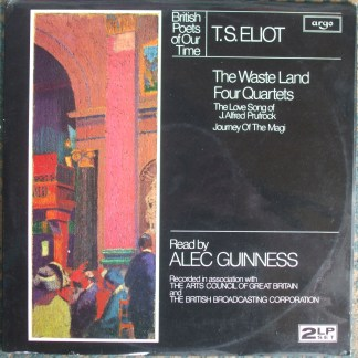 PLP 1206/7 British Poets of Our Time / T.S.Eliot / Read by Alec Guinness