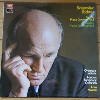 ASD 2744 Bartok / Prokofiev Piano Concertos / Sviatoslav Richter