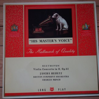 ALP 1437 Beethoven Violin Concerto / Heifetz / Munch